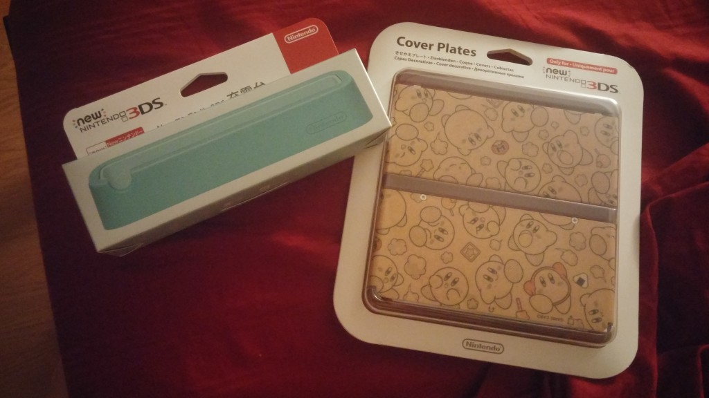 "Damian bought these for me as a ""You've been a good girl for waiting so long"" pre 3DS gifts."