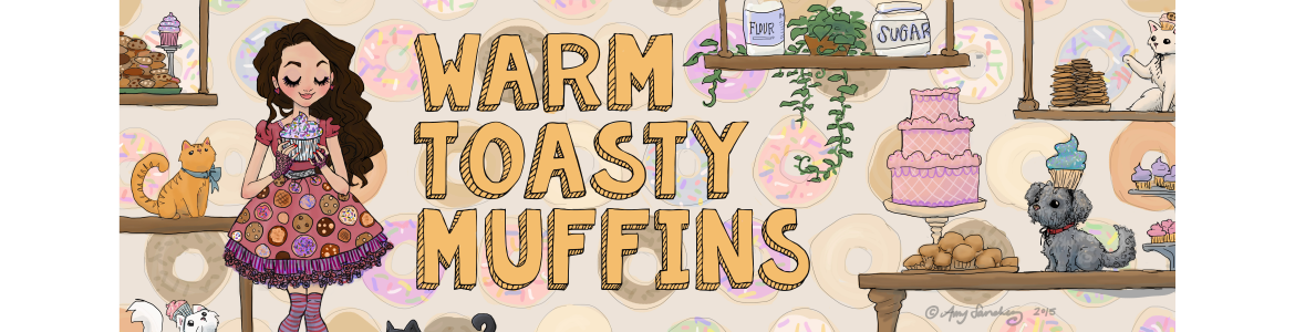 Warm Toasty Muffins